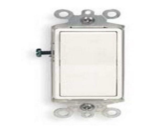 Leviton 5603-2W 3-Way 15A 120/277V Decora Rocker Switch (White) - Newegg com