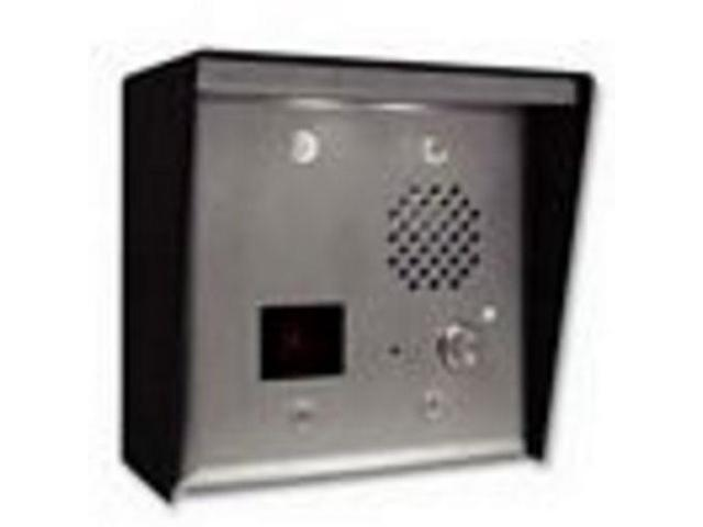 e75-ss viking electronics door phne w/card rdr,cam-steel