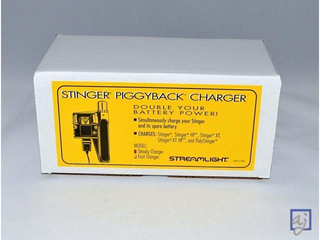 Streamlight Stinger PiggyBack Smart Charger w/Battery 75277 - Newegg com