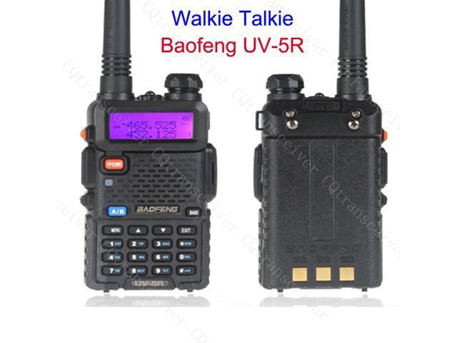 Baofeng handheld UV-5R Dual Band Walkie Talkie CB Radio vox 136-174MHz &  400-520MHz CTCSS / DCS with FREE headset - Newegg com