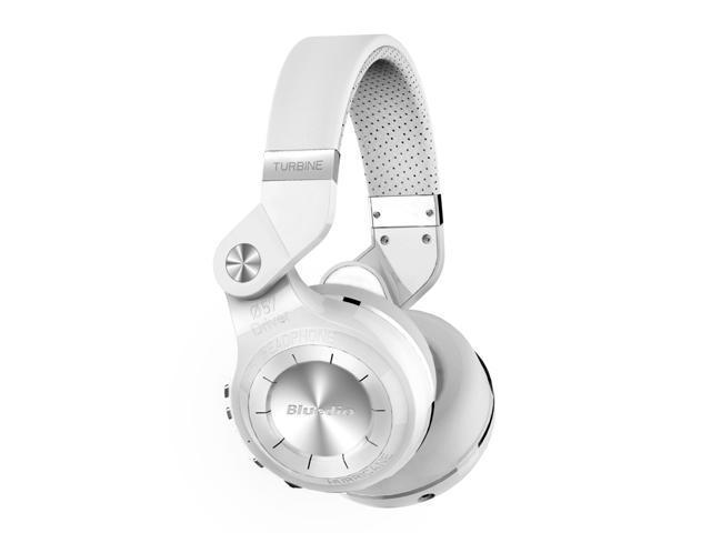 Bluedio T2S (Turbine 2 Shooting Brake) Wireless Bluetooth 4 1 Stereo On Ear  Headphones - White - Newegg com
