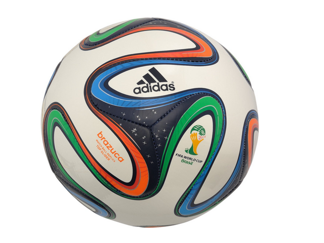f3c50157a7 adidas Brazuca FIFA 2014 World Cup Top Glider Soccer Ball ...