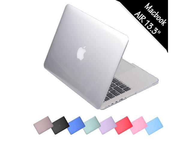 low priced 985f9 6bfd3 MacBook Air 13.3 Inch Case, iClover Glossy Crystal Clear Ultra Thin ...