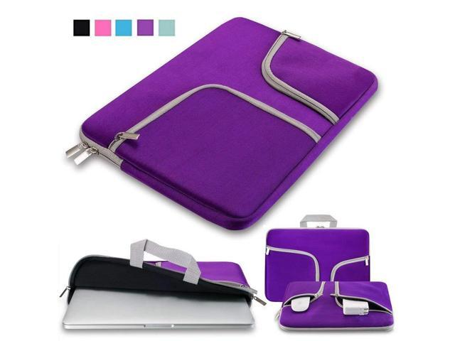b5d94705b4f1 Laptop Sleeve Case Bag 13.3-14.1 Inch,IC ICLOVER Waterpoof Protective Cases  Bag Carry Pouch Cover Handbag for Macbook Air Pro 13, Notebook Acer Dell ...