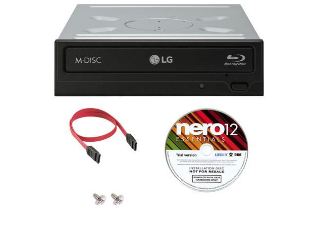 Asus BW-16D1HT Blu-ray Writer Burner Drive 16X Retail with Software Sata Cable