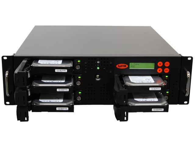 Systor Rackmount 1:4 Hard Drive Duplicator Cloning HDD/SSD Sanitizer -  Newegg ca
