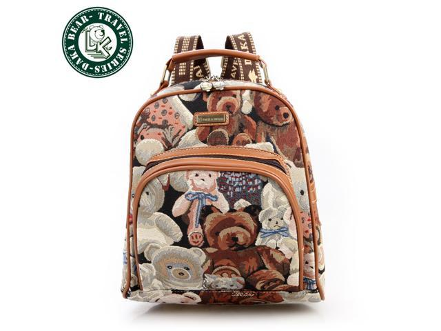 e0185fa8c DAKA BEAR® Cheap Bags Cute Lady Girls Vintage Canvas Satchel Backpack  Shoulder School Bag