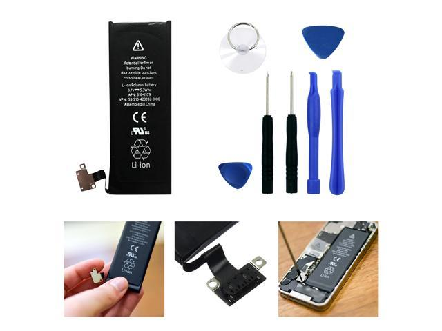 Apple iPhone 4S 16GB 32GB 8GB 616-0579 616-0580 Battery With 7 Pc Tool Kit  - Newegg com