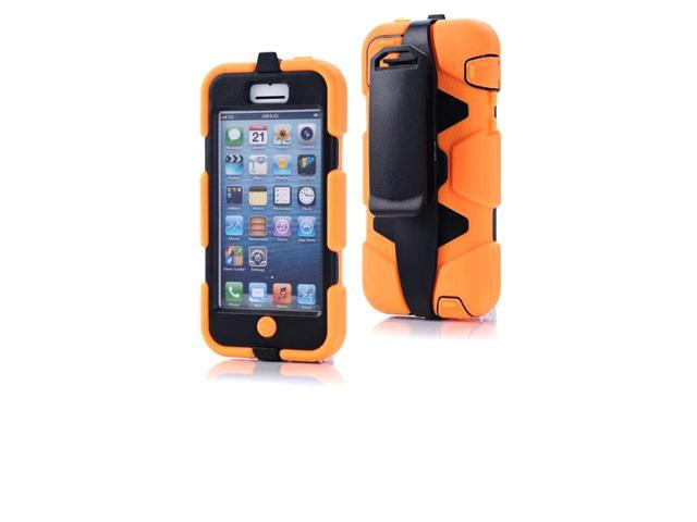 reputable site 41576 fad0f High Impact Dirt Snow Shock Proof Case Wth Belt Clip Holster Stand for  iPhone 5C - Newegg.com