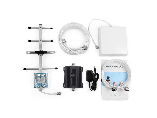 Verizon Cell Phone Signal Booster 4G LTE Band13 700Mhz Cell Signal Booster Verizon Mobile Phone Signal Booster Verizon Cell Phone Signal Amplifier Repeater with Panel//Yagi Antenna Kit for Home