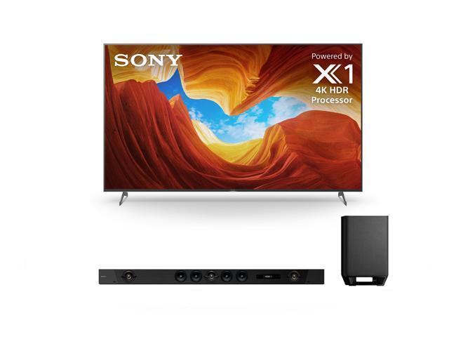 "Sony XBR-85X900H 85"" LED Smart TV with a Sony HT-ST5000 7.1.2 Bluetooth Soundbar Bundle (2020)"