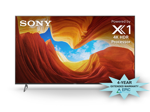 "Sony XBR-65X900H 65"" 4K Ultra High Definition HDR LED Smart TV with an Additional 4 Year Coverage by Epic Protect Bundle (2020)"