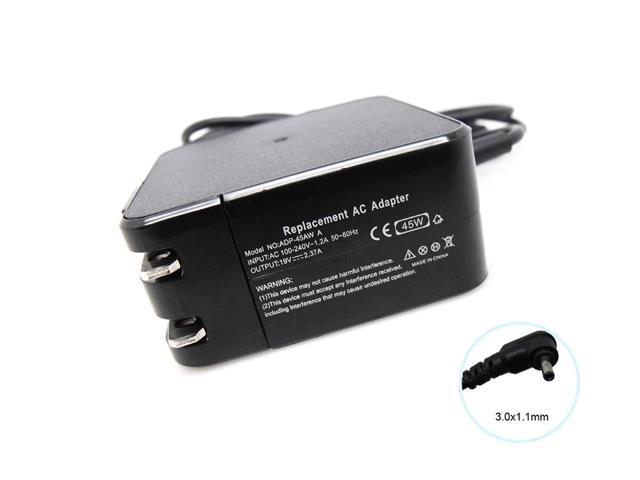 19V 2.37A 45W AC Adapter Travel Adaptor for Asus Zenbook UX21E UX31E Series  Notebooks (ADP-45AW) Laptop Battery Charger (3.0*1.1mm) - Newegg.com