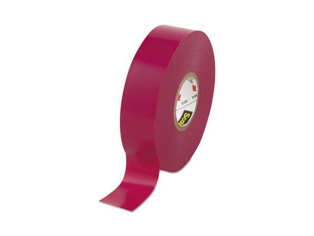 3M Scotch 35 Vinyl Electrical Color Coding Tape, Violet, 3/4