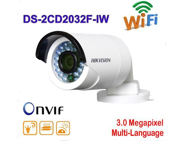 Hikvision DS-2CD2032F-IW 3MP HD 1080P WIFI Network Outdoor IR IP CCTV  Bullet Camera 6mm lens - Newegg com