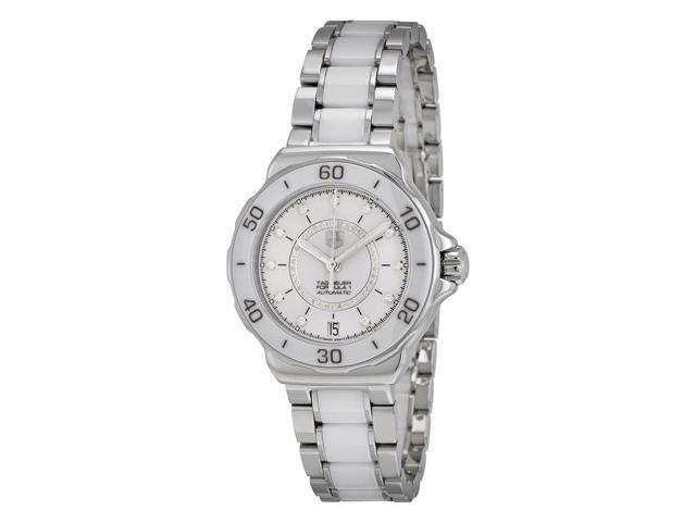 3fabcf759160 Tag Heuer Formula 1 Diamond Accented White Ceramic Ladies Watch  WAU2211BA0861