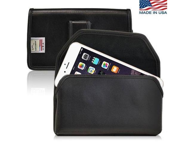 online store 686e1 0f9d6 iPhone 6 Plus Holster Black Belt Clip Case Pouch Leather Turtleback -  Newegg.com