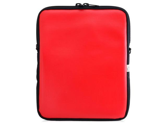 Universal Tablet Bags Red Sleeve Carrying Bag With Shoulder Strap Newegg