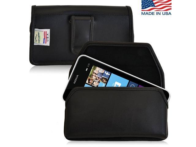 best service 05304 f2730 Nokia Lumia 635 Holster Black Belt Clip Case Pouch Leather Turtleback -  Newegg.com
