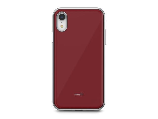 new styles 77c3b c3736 Moshi iGlaze Ultra-Slim Hardshell Case Merlot Red for iPhone XR Cases -  Newegg.ca