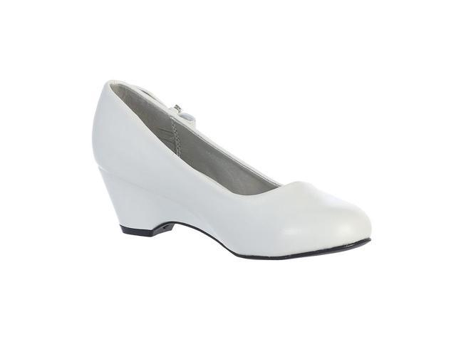 Lito Girls White Bow Gina Special