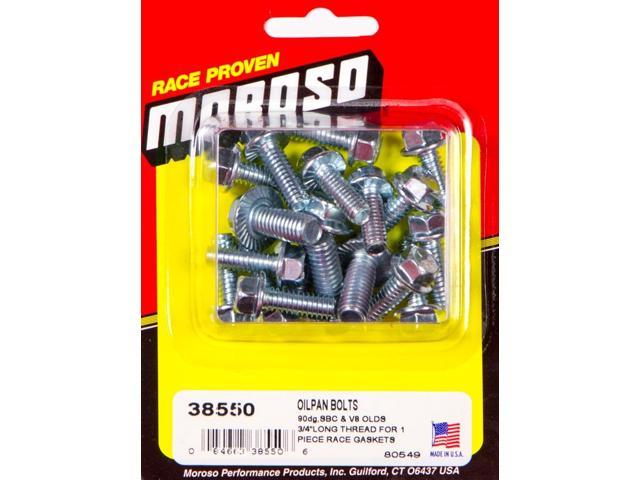 Moroso Self Locking Oil Pan Bolts - Newegg com