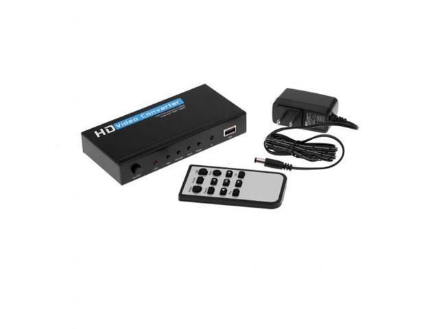 hdv 336a vga ypbpr to hdmi video converter upscaler 1080p pc dvd rh newegg com