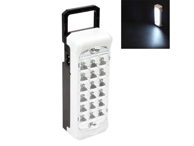 20 Leds 2 Mode Portable Rechargeable Emergency Light Hang Carry Camping Lamp With Telescopic Handle