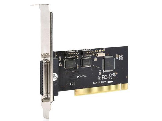 2-Port Serial + 1-Port Parallel PCI Card - Newegg com