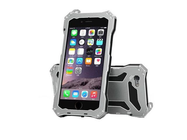 100% authentic 81909 c9604 S.CENG Slim Waterproof Shockproof Gorilla Glass Metal Aluminum Case Cover  for iphone 6 plus/6s Plus 5.5inch Mobile Phone Cases - Silver - Newegg.com
