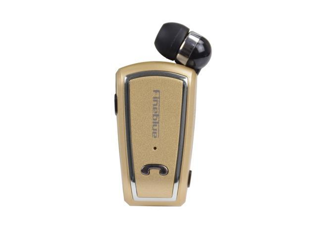 F V3 Bluetooth Wireless Headset Stereo Sport Retractable Earphone With Clip For Iphone Samsung Gold Newegg Com
