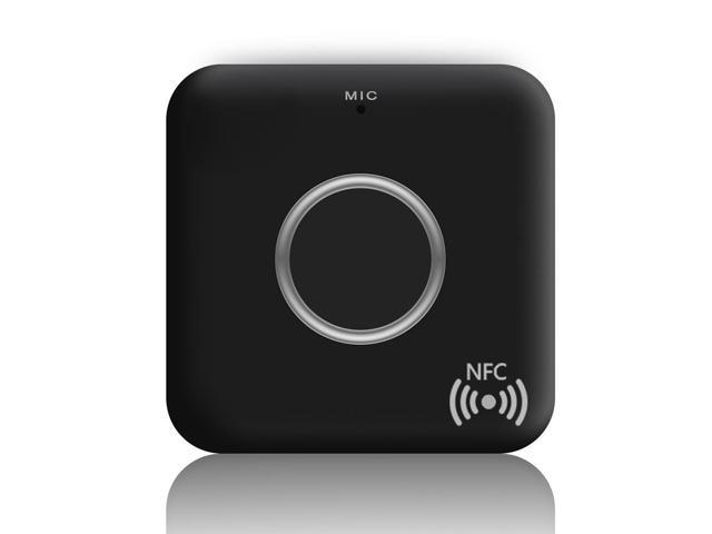 B7 Bluetooth Receiver CSR8635 Bluetooth 4 1 Wireless Audio Receiver Music  Box Adapter with Mic AUX Out for Speaker Car Stereo Home Audio System Black