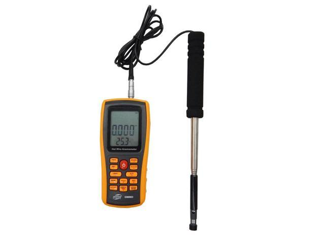 BENETECH GM8903 Digital Anemometer Wind Speed Meter Anemometer Wind Speed  GaugeTemperature Measure USB Interface - Newegg com