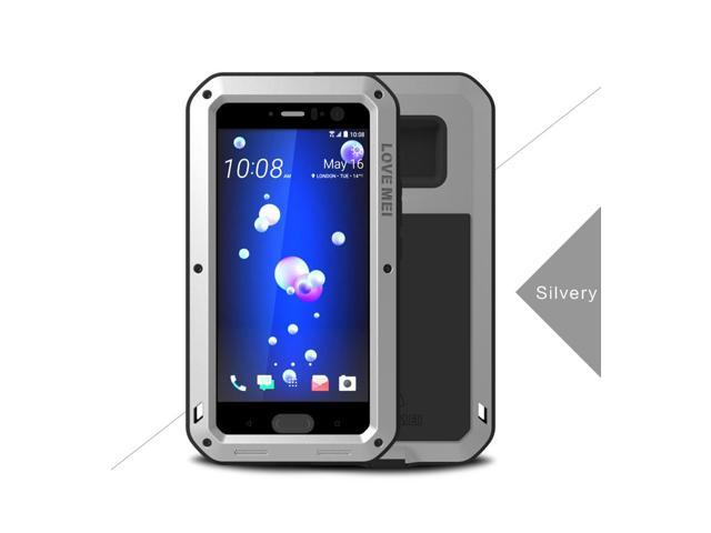 new concept 5589c 2ca5c Love Mei Shockproof Waterproof Metal Aluminum Case For HTC U11 - Silver -  Newegg.com
