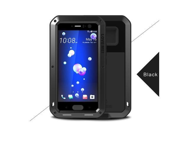 hot sale online 4bf66 a6f1e Love Mei Shockproof Waterproof Metal Aluminum Case For HTC U11 - Black -  Newegg.com