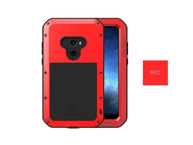 huge selection of 53bfd 68231 LOVE MEI Metal Waterproof Case For Xiaomi Mi Mix 2 Shockproof Cover For  Xiaomi Mix 2 Mi Mix2 metal Armor cover (Red) - Newegg.com