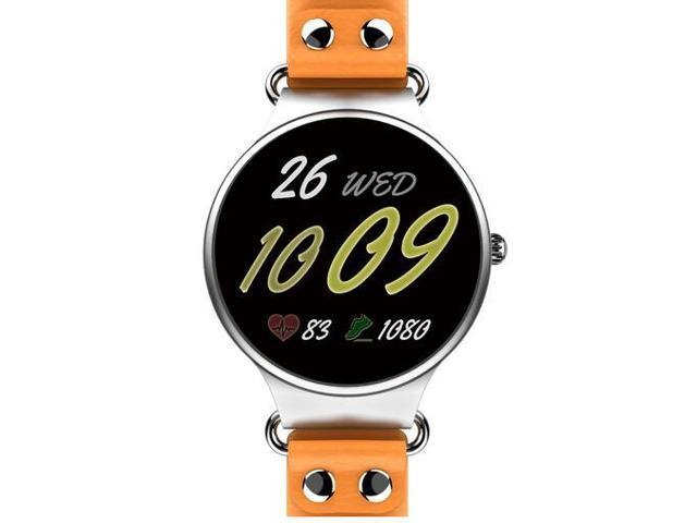 KingWear KW98 3G Smartwatch 8GB GPS Wristwatch Phone Android 5 1 MTK6580  Quad Core 1 39 inch Heart Rate Monitor Pedometer - Silver Brown - Newegg com