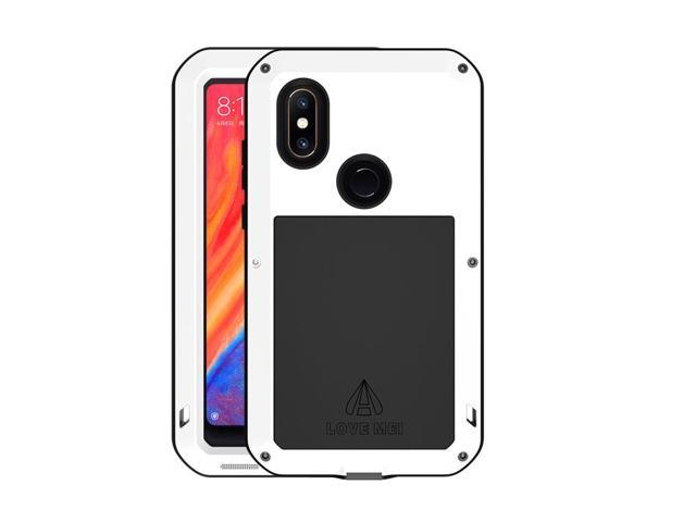 best service f91e0 e19aa LOVE MEI Aluminum Metal Case For Xiaomi Mi MIX 2S MIX2S Cover Powerful  Armor Shockproof Life Waterproof Case For Xiaomi Mi MIX 2S MIX2S (White) -  ...