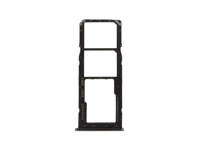 Dual SIM Tray Micro SD Card Tray Holder Slot Replacement For Samsung Galaxy  A50 A505 / A30 A305 (Black) - Newegg com