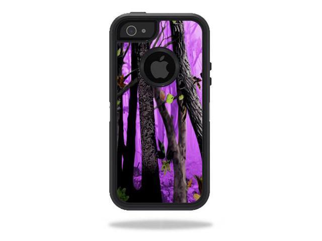 huge sale cdb8b 95707 Skin Decal Wrap for OtterBox Defender iPhone 5/5s/SE Case Purple Tree Camo  - Newegg.com