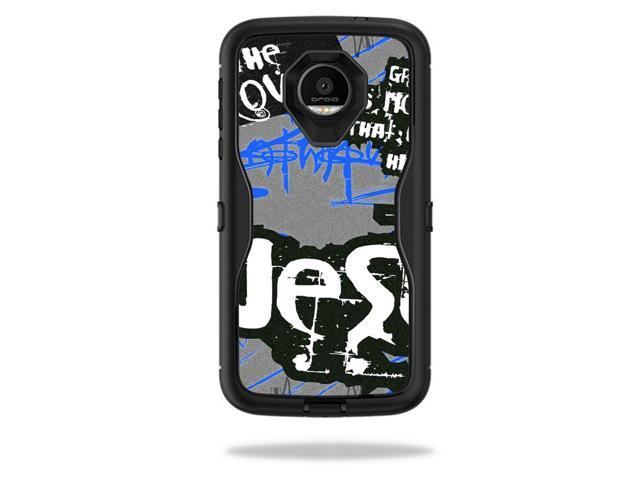 finest selection 0e326 944f0 Skin Decal Wrap for OtterBox Defender Moto Z Force Droid Love Jesus -  Newegg.com