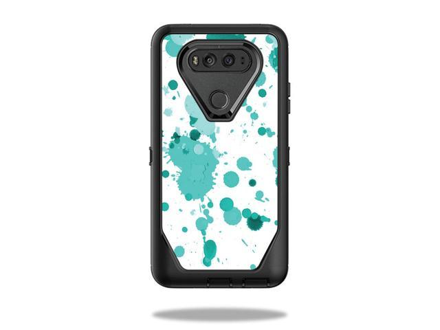 innovative design c6555 cac16 Skin Decal Wrap for OtterBox Defender LG V20 Case Teal Splatter - Newegg.com