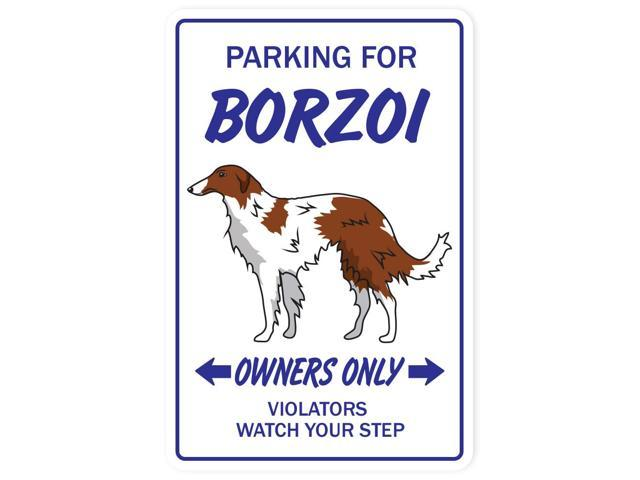 BORZOI Novelty Sign dog gift dogs groomer gag gift breeder pet animal puppy