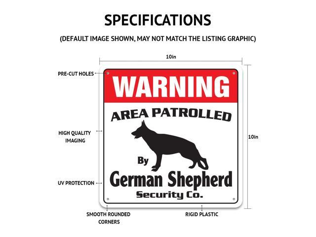BULLDOG Security Decal Area Patrolled pet guard warning dog bull dog vet