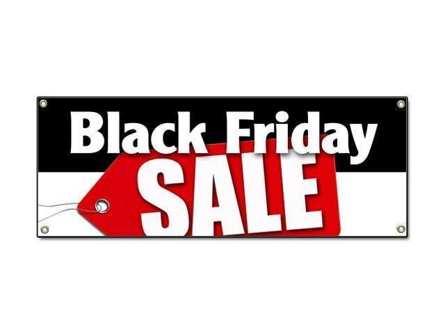 Black Friday Sale Banner Sign Special Discounts Save Huge Low Prices Slashed Newegg Com