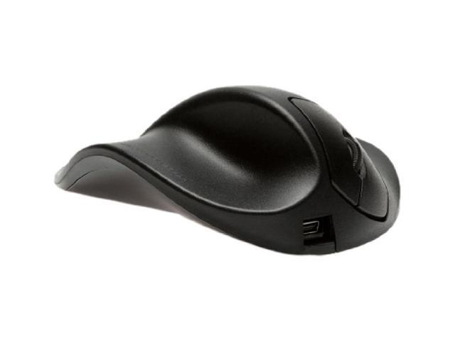 Inc Full Prestige International Hippus Handshoe Left Handed Ergonomic Mouse Wired Black Medium