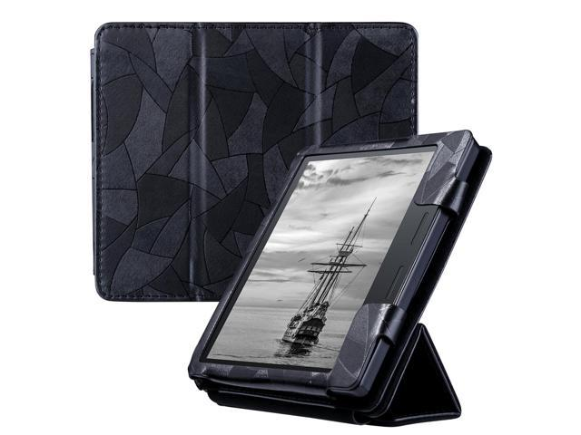 ULAK Kindle Oasis Case, Folio Trifold Stand Slim Lightweight Synthetic  Leather Case Smart Cover for Amazon New Kindle Oasis (2016 Released) with  Auto