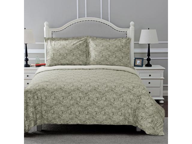 Alderwood 300 Thread Count Printed Cotton Duvet Cover Set by Superior