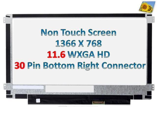 "11.6/"" LED LCD Screen M116NWR6 R0 5D10K04184 1366x768 WXGA HD eDP 30PINS"