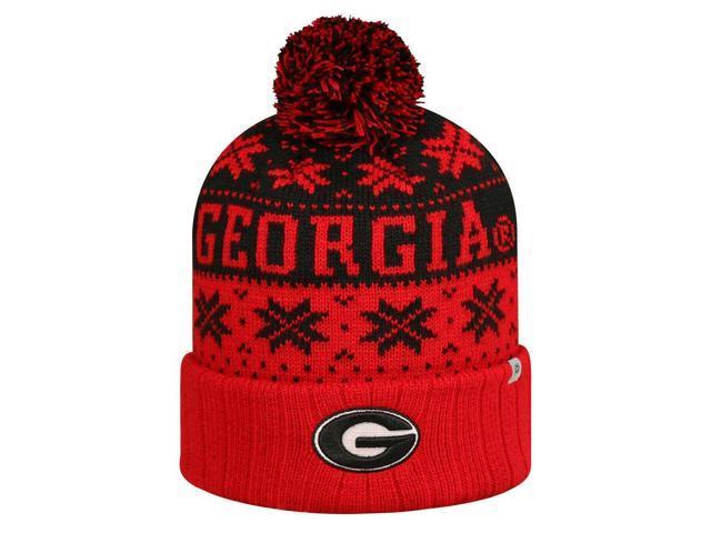 Subarctic Knitted Georgia Bulldogs UGA Hat with Pom - Newegg.com e3017e5f8e6